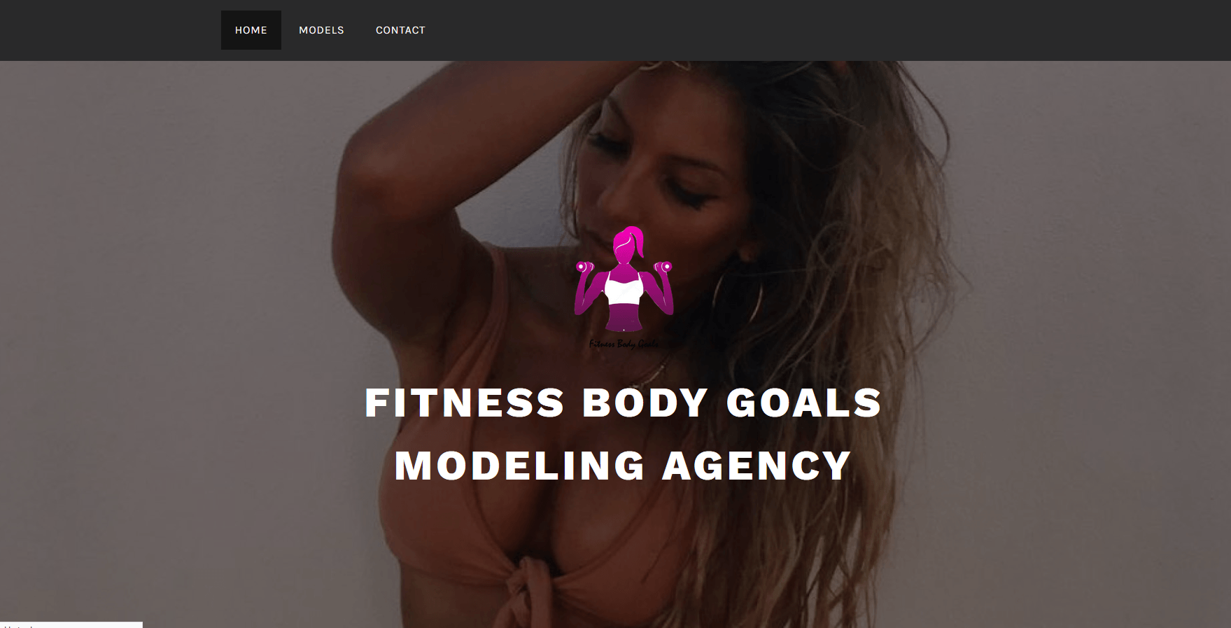 Modeling Agency, Web site
