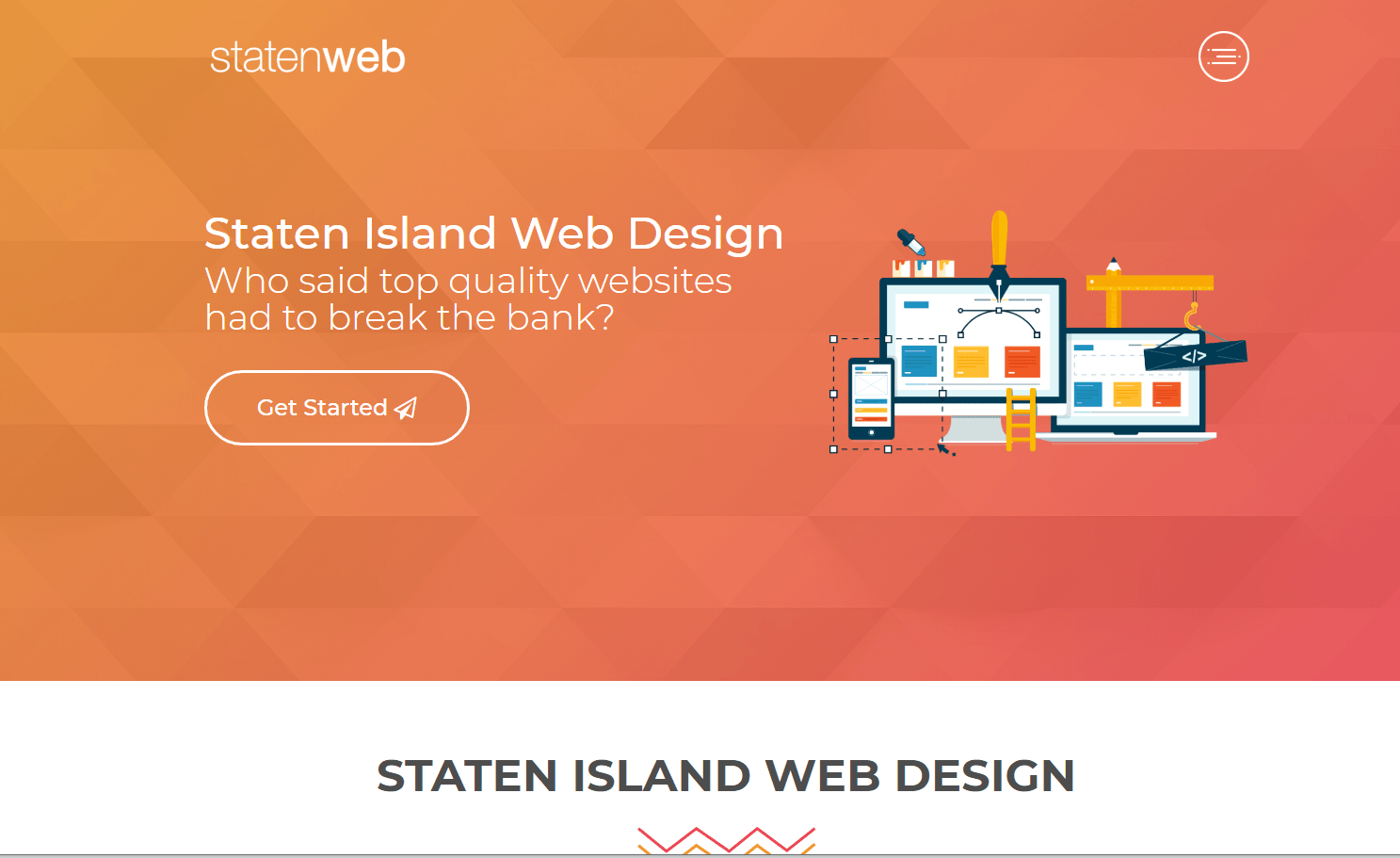Web design agency, Web site #3