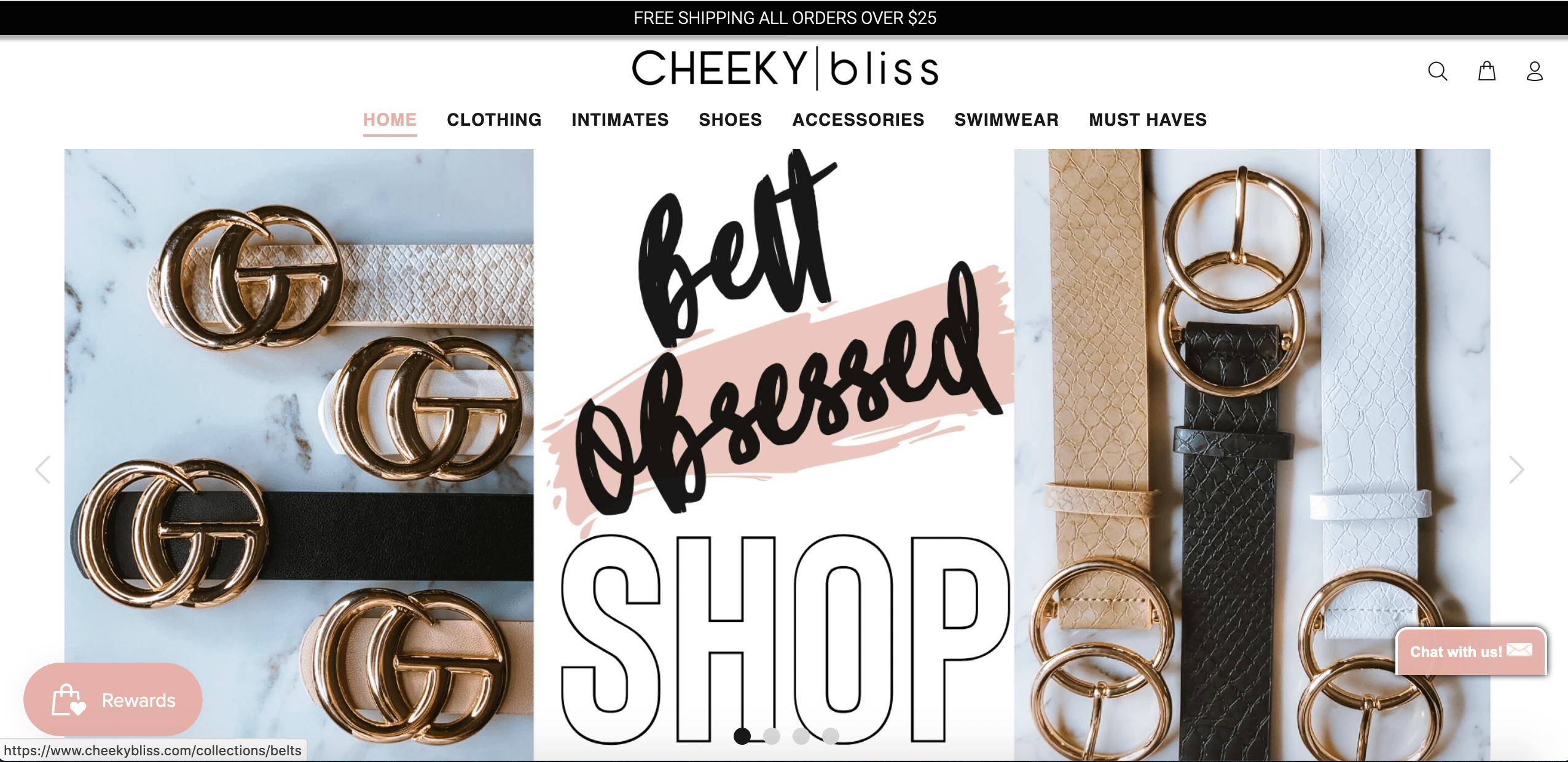 E-com clothing store website #1